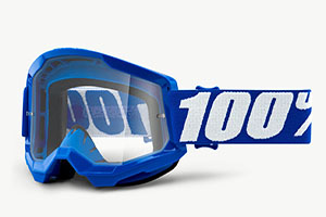 купить Очки 100% Strata 2 Blue/ Clear Lens