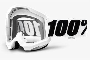 купить Очки 100% Strata 2 Everest/ Clear Lens