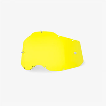 купить Линза 100% RC2/AC2/ST2 Replacement Lens Yellow