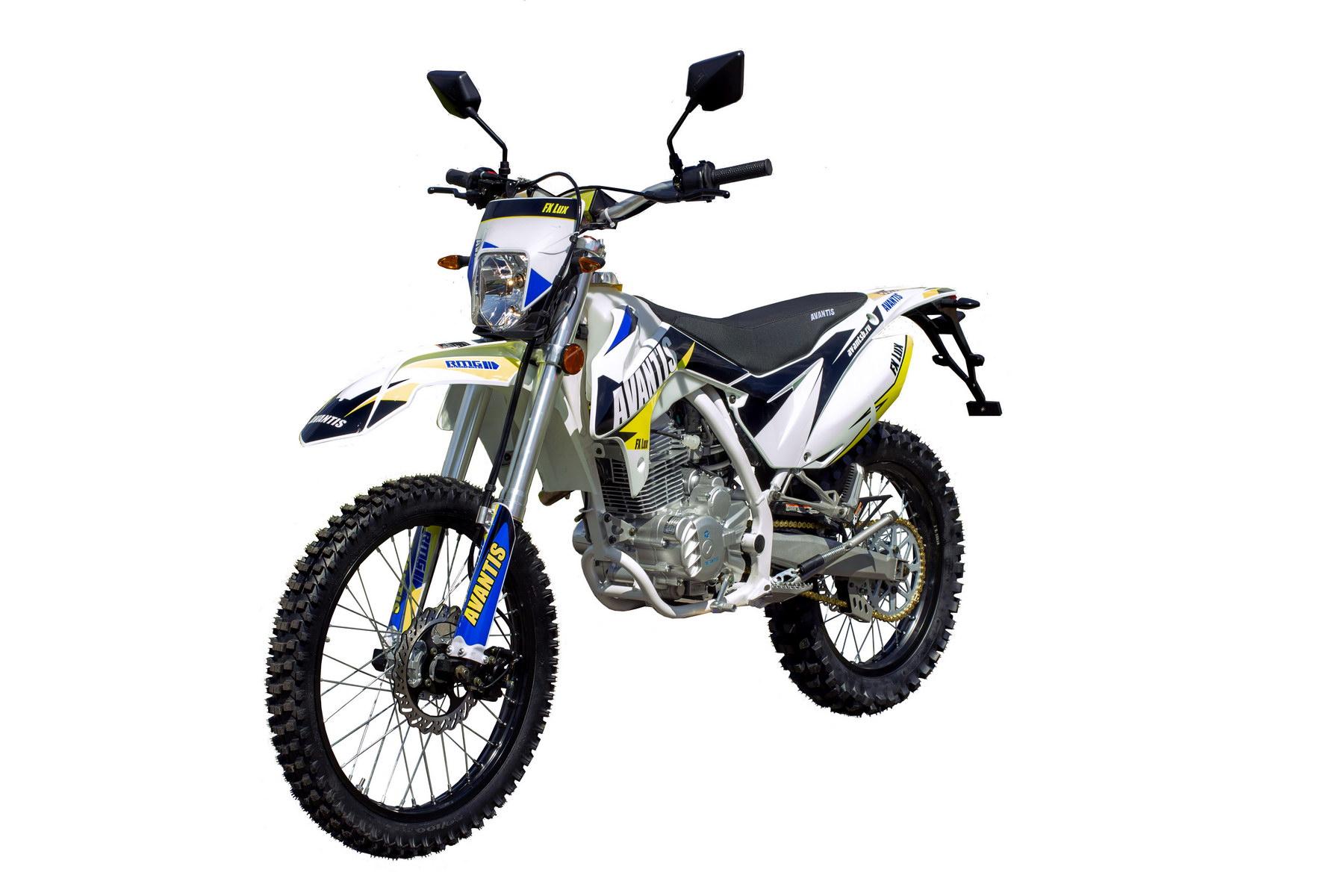 Мотоцикл Avantis FX 250 Lux с ПТС
