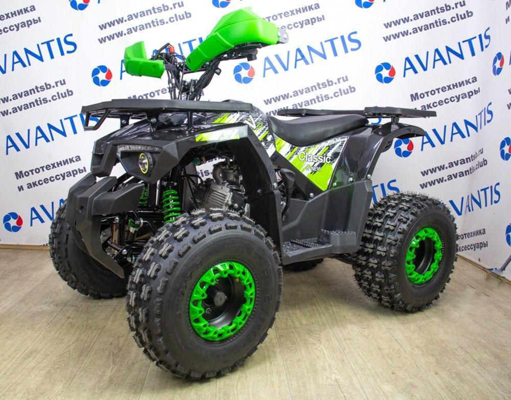 Квадроцикл Avantis Classic 8 New - зеленый