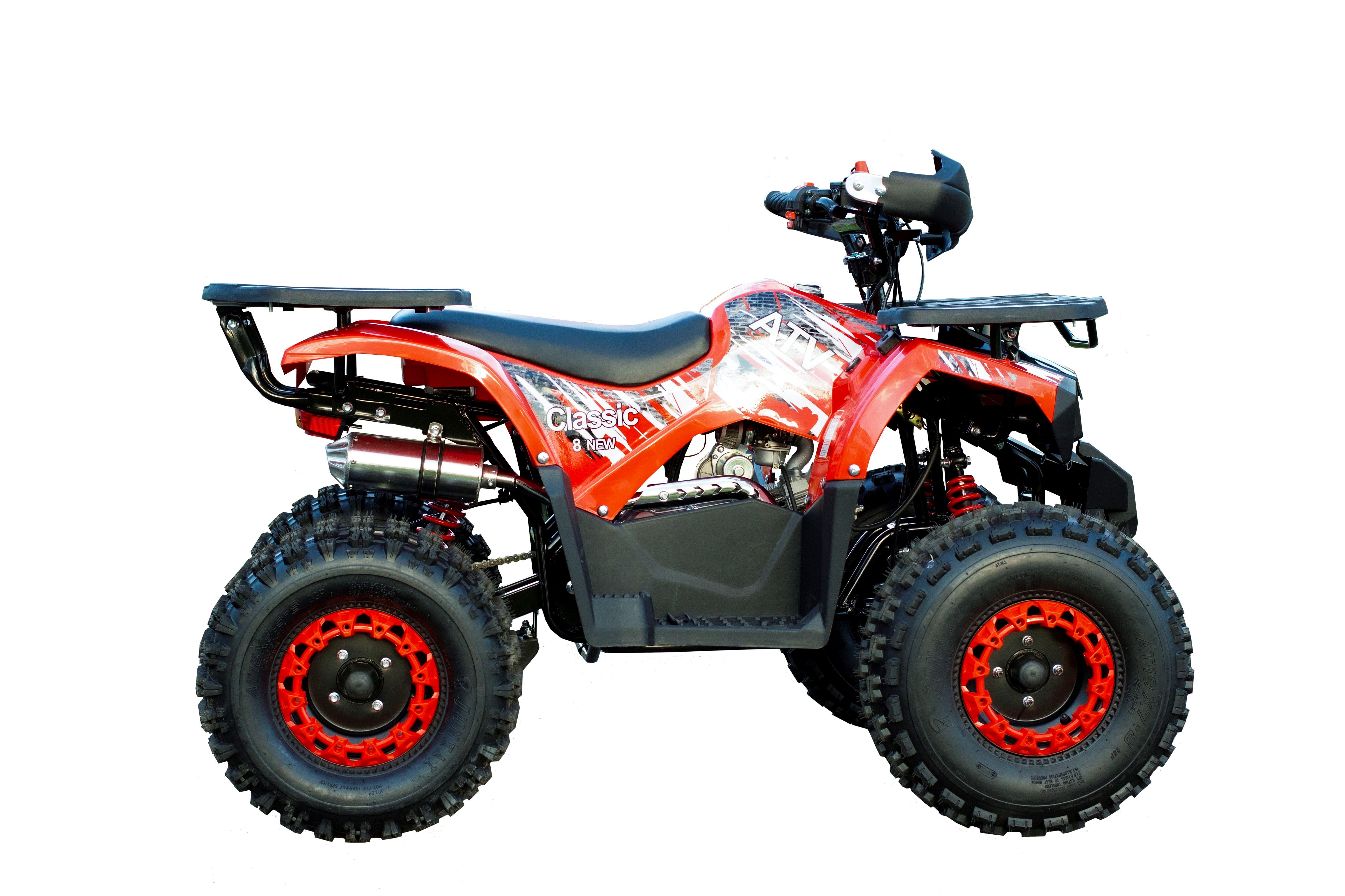 Квадроцикл Avantis Classic 8 New - красный