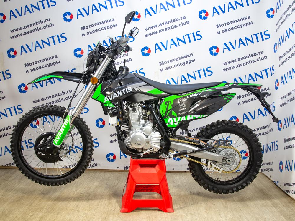 Мотоцикл Avantis A7 Lux (174 MN) с ПТС