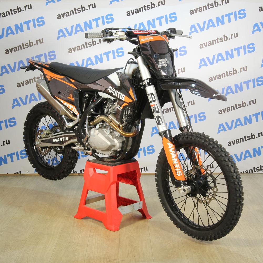 купить Мотоцикл Avantis Enduro 250 CARB (PR250/172FMM-5 DESIGN KT ЧЕРНЫЙ) ARS С ПТС