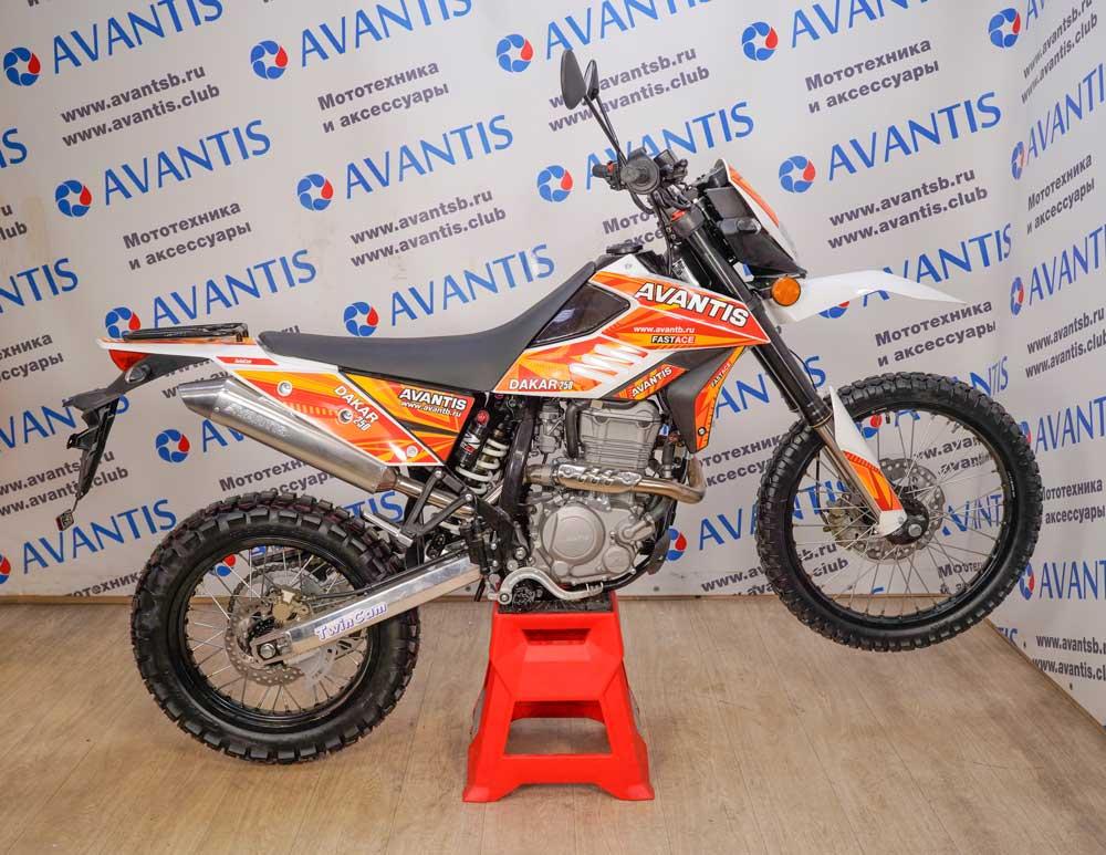 Мотоцикл Avantis Dakar 250 Twincam c ПТС