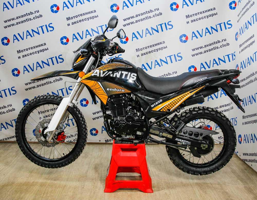 Мотоцикл Avantis MT250 (172 FMM) с ПТС