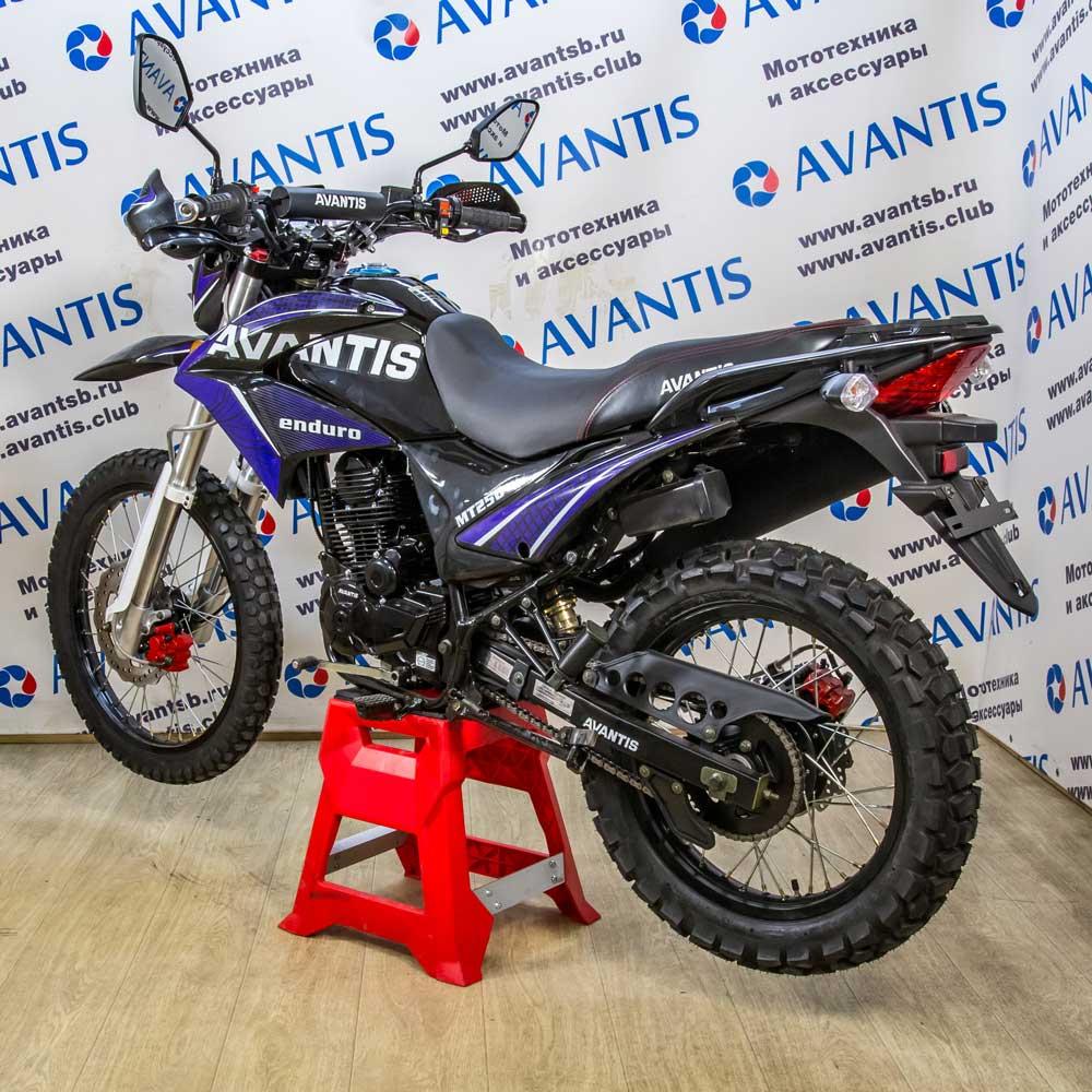 Мотоцикл Avantis MT250 (172 FMM) с ПТС (синий)ПТС