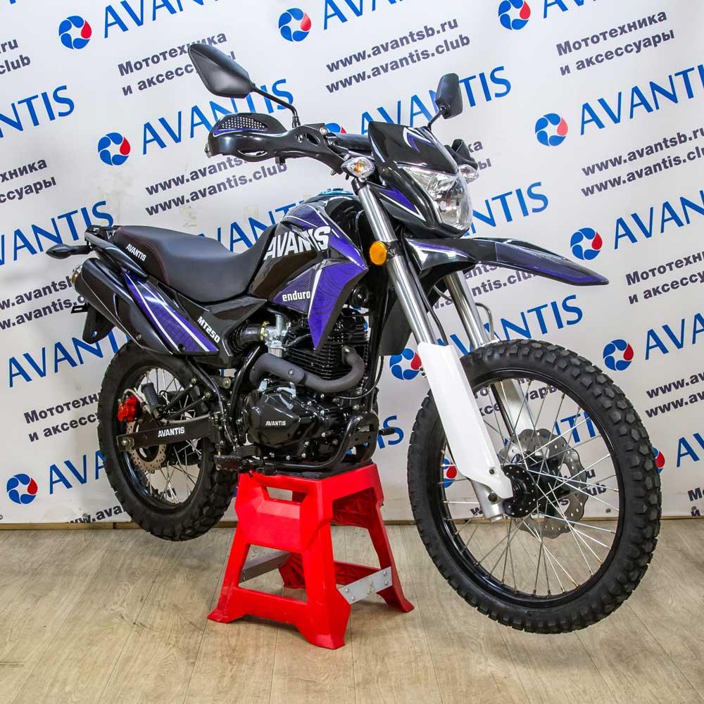 Мотоцикл Avantis MT250 (172 FMM) с ПТС (синий)