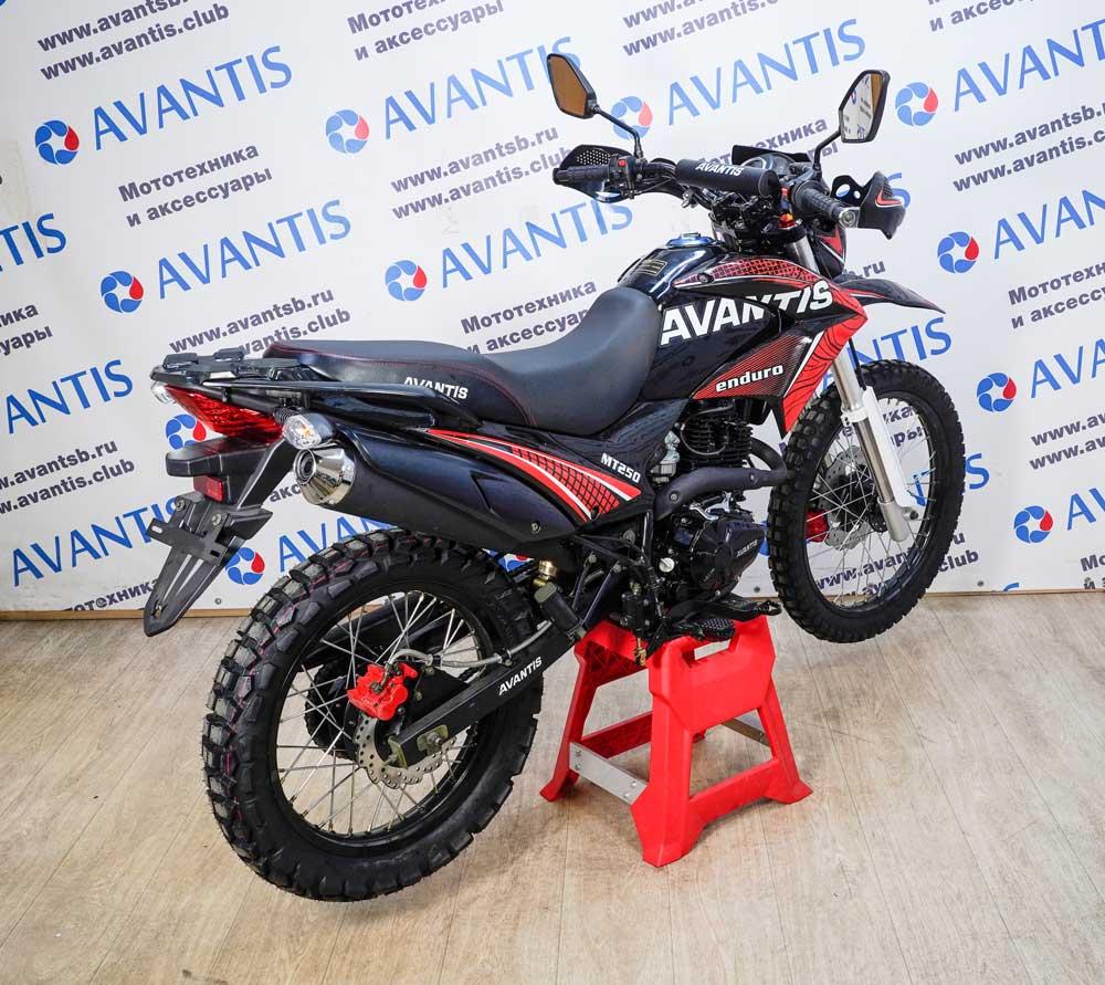 Мотоцикл Avantis MT250 (172 FMM) с ПТС (красный)