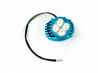 Фара передняя головного освещения для питбайков 4 светодиода 12V