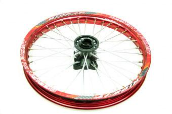 Диск алюминиевый со ступицей в сборе (передний) pitbike Avantis 125-150cc lux