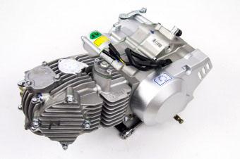 Двигатель в сборе YX160 4+0 кикстартер, р/с, 4кл