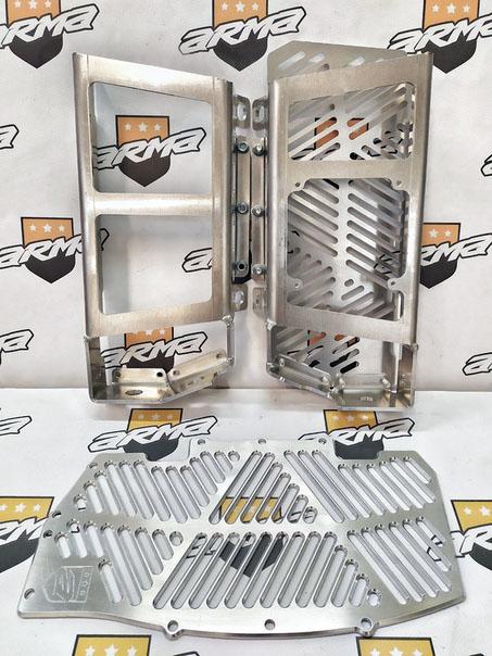 Защита радиаторов KTM/Husqvarna 2017-19г. ARMA