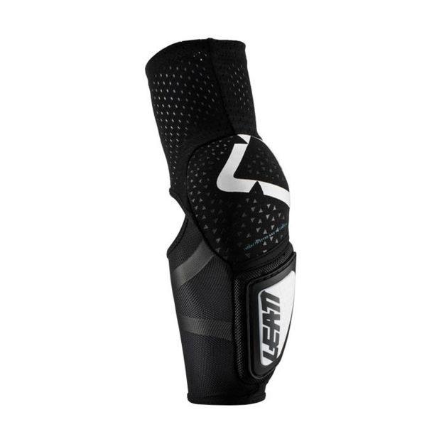 Leatt Налокотники 3DF Hybrid черно-белые L-XL