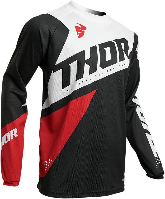 Джерси для мотокросса Thor S20 Sector Blade черно-красный