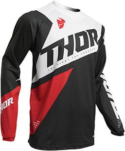 Купить Джерси для мотокросса Thor S20 Sector Blade M, черно-красный