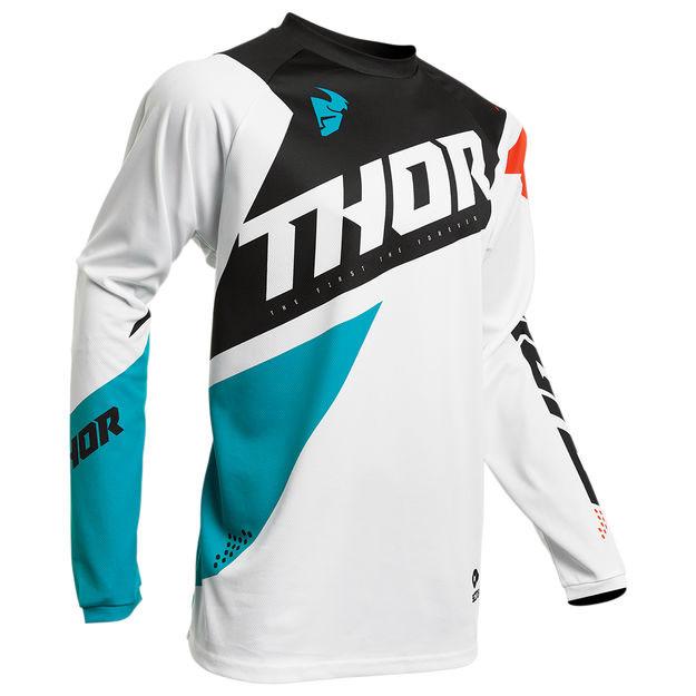 Джерси для мотокросса Thor S20 Sector Blade XL, белый