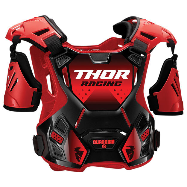 Защита тела Thor Guardian S20 черно-красная