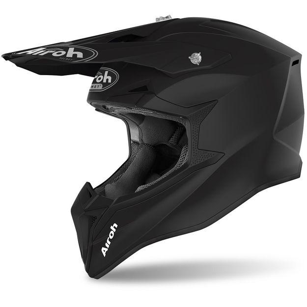 Купить Кроссовый шлем Airoh Wraap оранжево-матовый M
