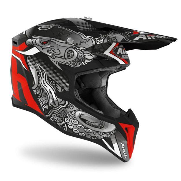 Шлем для эндуро и кросса Airoh Wraap Octopus Matt