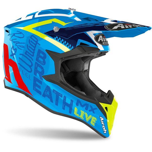 Купить Шлем для эндуро и кросса Airoh Street Azure Gloss