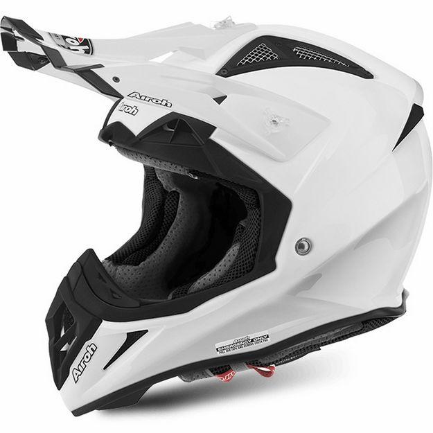 Купить Шлем для эндуро и кросса Airoh Aviator 2.2 Color White Gloss