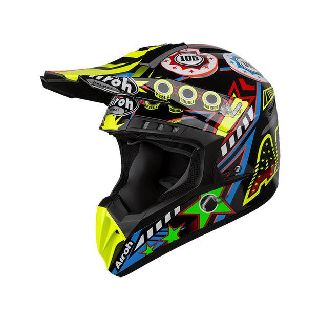 Купить Шлем для эндуро и кросса Airoh Switch flipper gloss