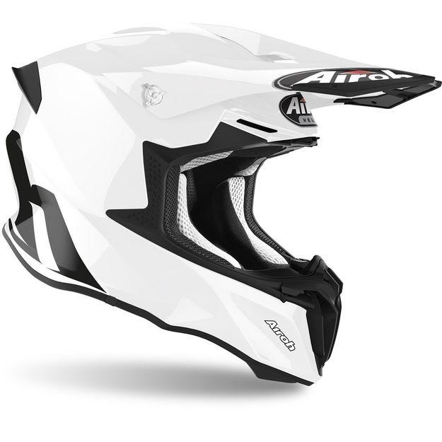 Шлем для эндуро и кросса Airoh Twist 2.0 Color White Gloss