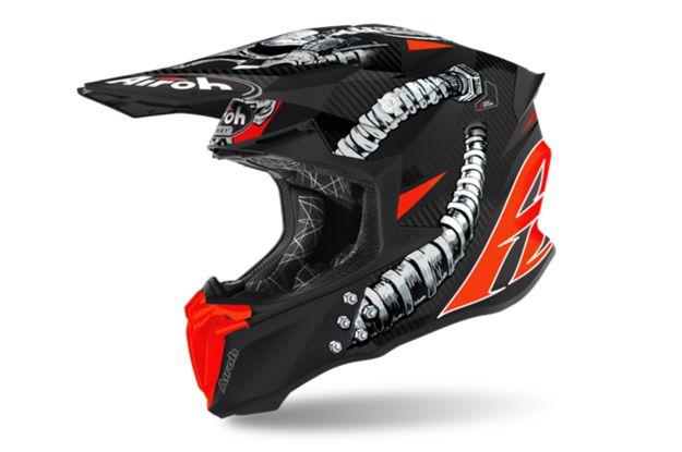Купить Шлем для эндуро и кросса Airoh Twist 2.0 Bolt Matt