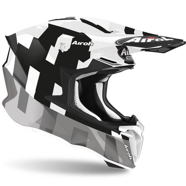 Шлем для эндуро и кросса Airoh Twist 2.0 Frame Grey Gloss