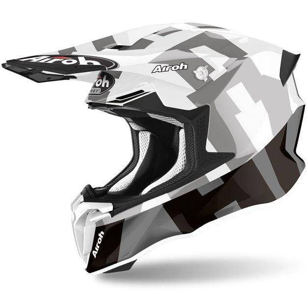 Купить Шлем для эндуро и кросса Airoh Twist 2.0 Frame Grey Gloss