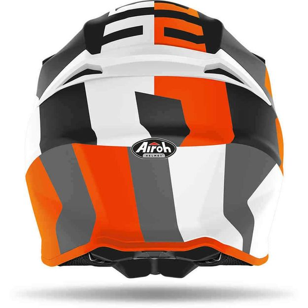 Купить Шлем для эндуро и кросса Airoh Twist 2.0 Frame Orange Matt