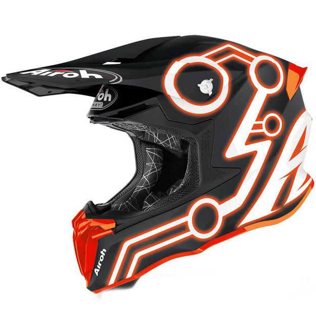 Купить Шлем для эндуро и кросса Airoh Twist 2.0 Neon Orange Matt