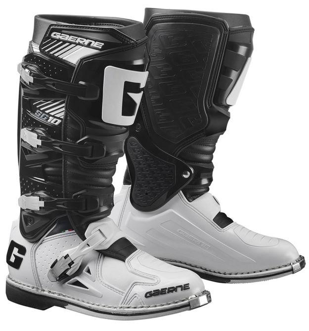 Мотоботы Gaerne SG-10 черно-белые