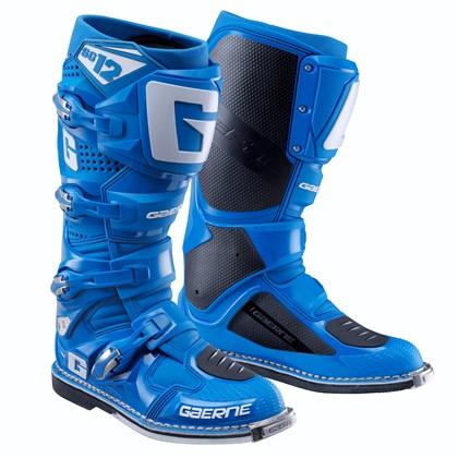Купить Мотоботы Gaerne SG 12 голубые