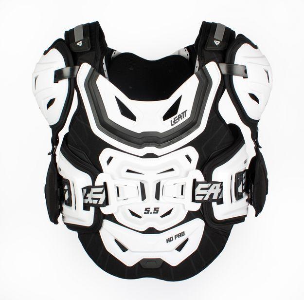 Купить Защита тела LEATT 5.5 PRO HD черно-белая
