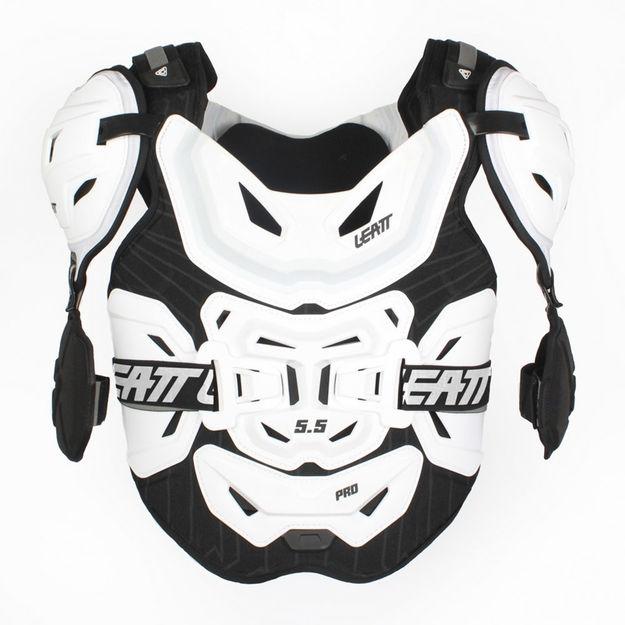 Купить Защита тела Leatt 5.5 Pro черная, черно-белая
