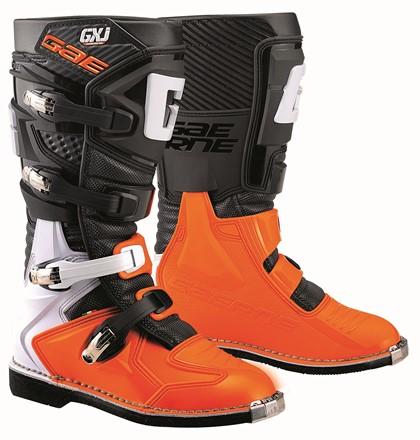 Купить Мотоботы Gaerne GXJ черно-оранжевые