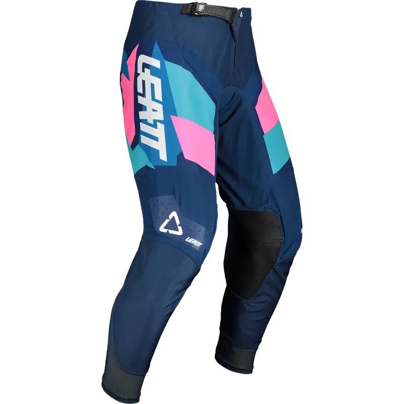 Купить Мотоштаны Leatt Moto 4.5 Pant Blue/pink