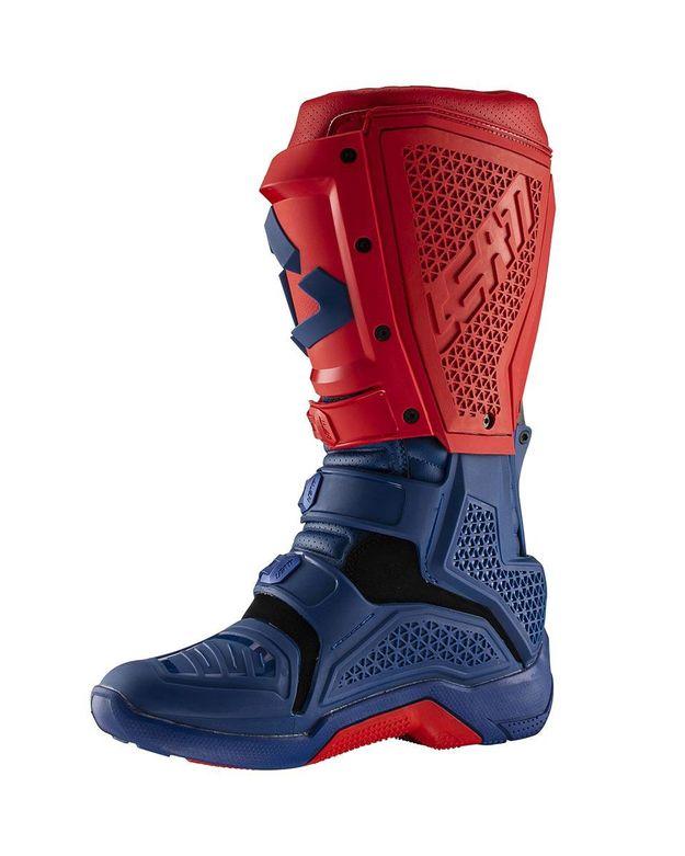 Купить Мотоботы Leatt GPX 5.5 Flexlock сине-красные