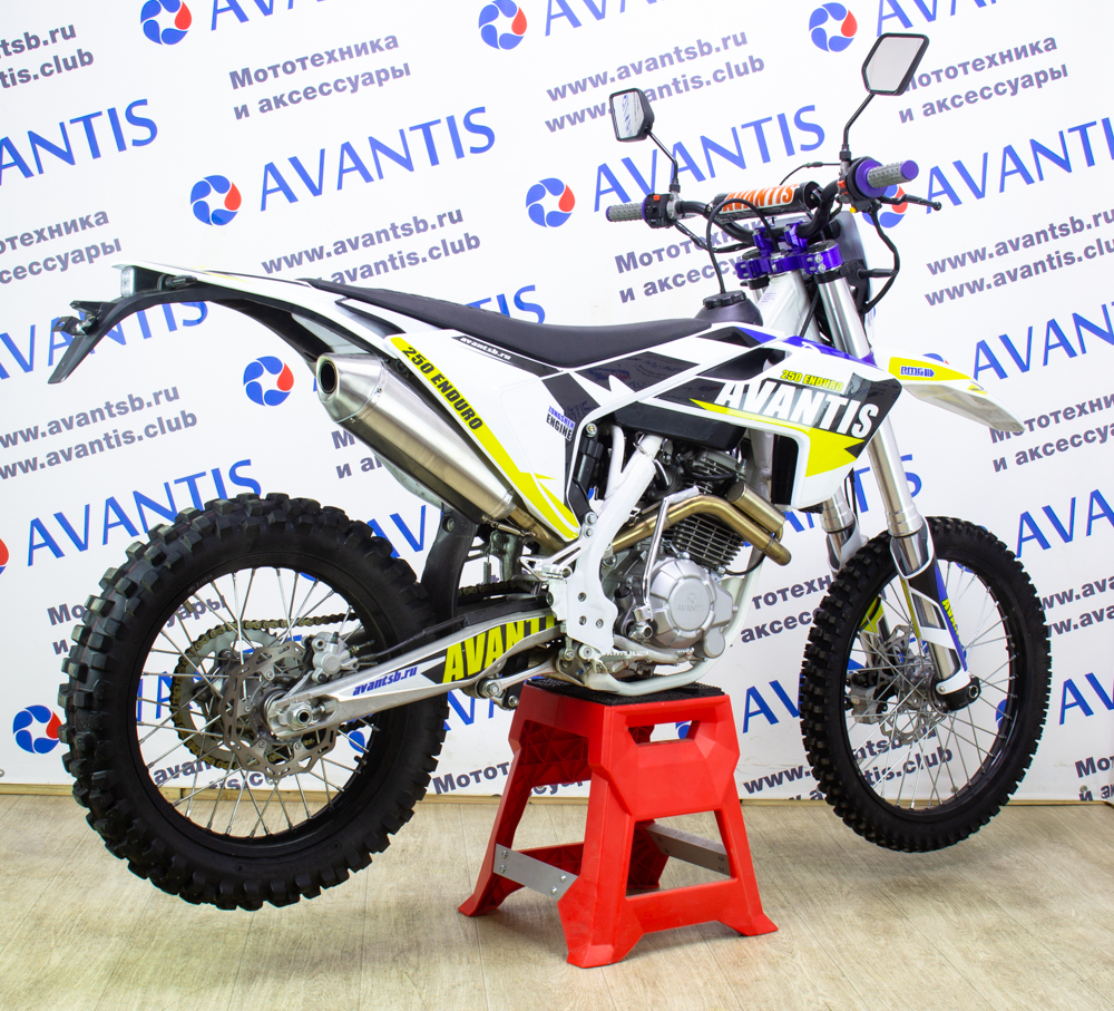 Мотоцикл Avantis Enduro 250 c ПТС